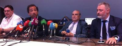 De izquierda a derecha, Pedro Pablo Rubio, Diego Maraña, Vicente Conde y Alberto García Ramos (Foto: El Mundo Financiero.com)