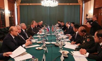 China y Rusia se comprometen a salvaguardar un orden internacional 'justo y equitativo'
