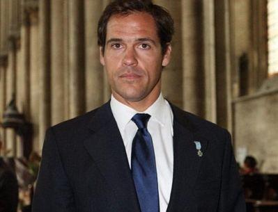 El Príncipe de Francia Luis Alfonso de Borbón.