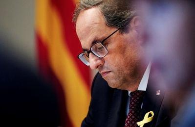 Empresaris de Catalunya piden a Torra neutralidad institucional