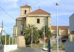 Iglesia y ermita de la Virgen del Carmen, en la localidad almeriense de Pechina.