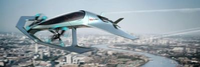 Aston Martin Volante Vision Concept, un aerotransportador de volador de lujo
