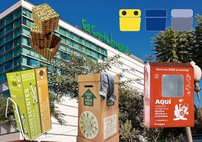 El Corte Inglés propicia el reciclaje de más de 20.500 Tm. de aparatos electrónicos