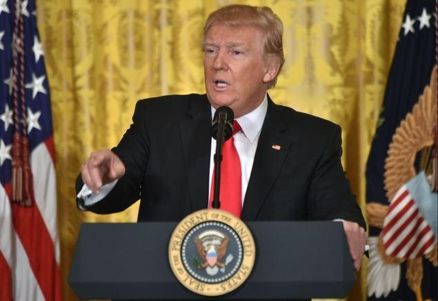 Guerra de la prensa estadounidense contra el presidente Trump