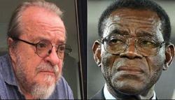 En la imagen, Vladimir Kokorev y Teodoro Obiang.