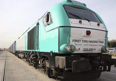 El tren Madrid-Yiwu es ya una realidad.