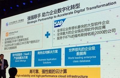 Alibaba y SAP profundizan en su alianza global para impulsar empresas inteligentes en China