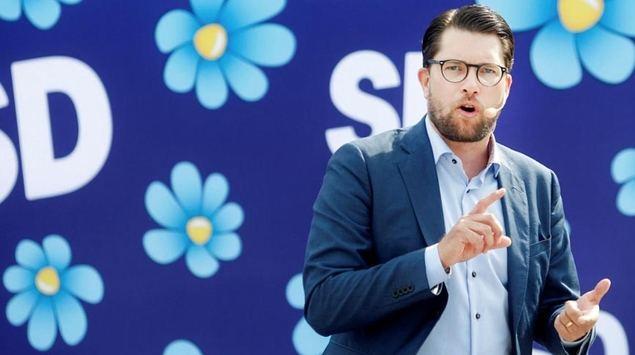 Jimmie Åkesson es el líder del partido Demócratas Suecos.