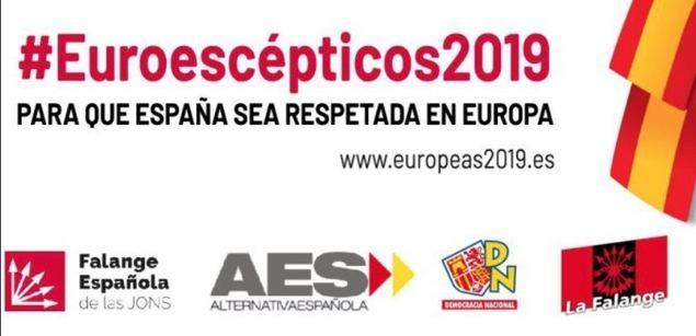 Nace una nueva coalición de #Euroescépticos2019 para las Europeas