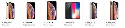 Dónde comprar a plazos el iPhone XS para pagar lo mínimo