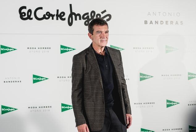 El Corte Inglés 'ficha' a Antonio Banderas para su nueva campaña de moda masculina