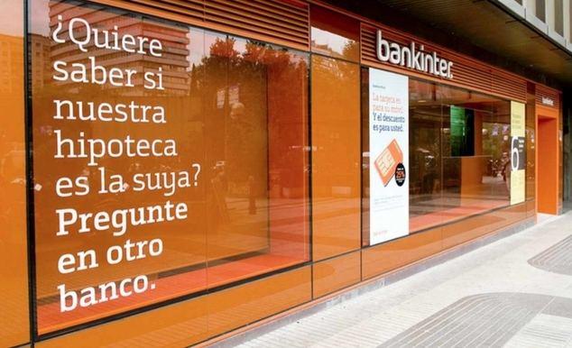 Bankinter vuelve a apretar las tuercas a la guerra hipotecaria