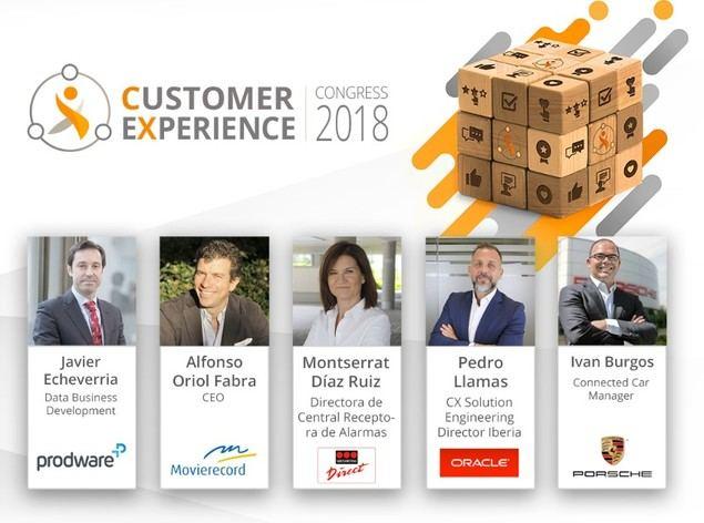 Porsche, easyJet, Securitas Direct y otras marcas líderes analizarán la situación de la experiencia de cliente en CEC 2018