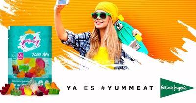 Yummeat, la primera marca de golosinas 0% en España, llega a El Corte Inglés