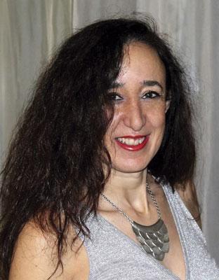 La autora, María José Gómez Sánchez-Romate