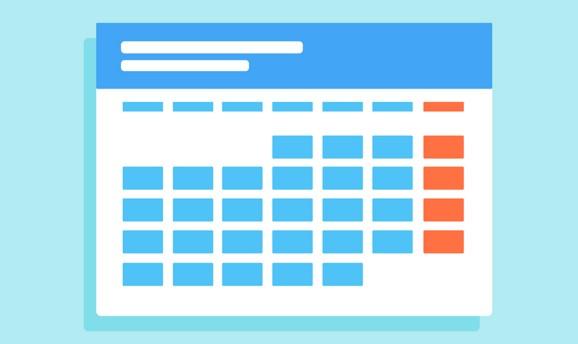 Prepara tu calendario de empresa 2019