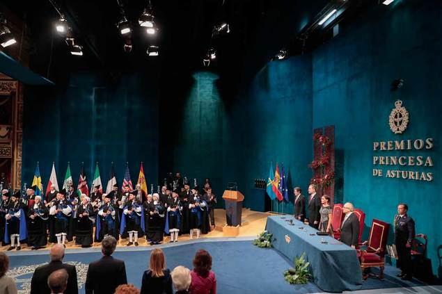 La ceremonia de los Premios Príncipe de Asturias a exámen