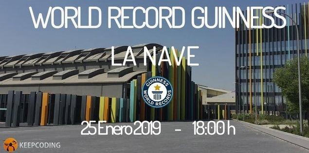 Madrid se convertirá en la capital del código con el mayor Récord Guinness en programación