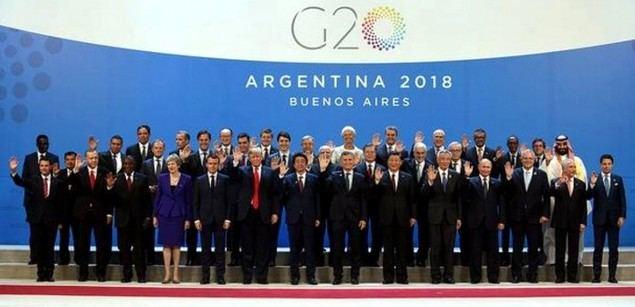 China llama a miembros de G20 a defender libre comercio y sistema comercial multilateral
