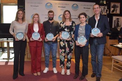 Entregados los Premios 'Un año de libros' de El Corte Inglés