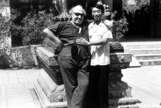 Pepe Castedo en una antigua imagen de archivo. Muchos chinos todavía se acuerdan de él y de sus clases.