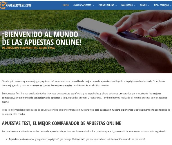 Apuestastest: la mejor manera de apostar online