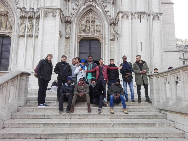 Un free tour para los refugiados en Bruselas de la mano de Guruwalk y BXL Refugees