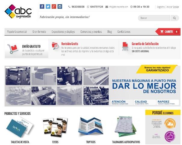 ABC Imprenta: un caso de éxito en la impresión online