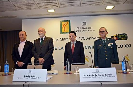 Miguel Sebastián, Félix Azón, Antonio Gavilanes y José María Feliz Cadenas.