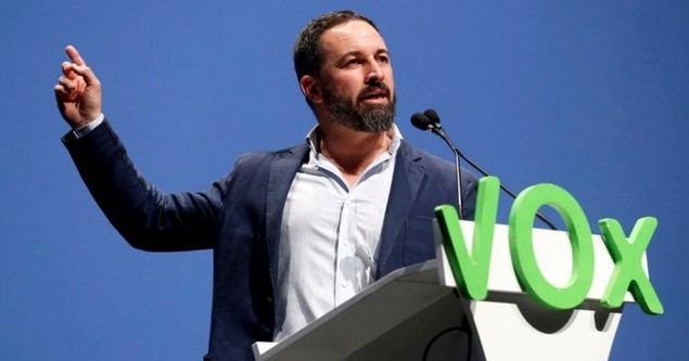 Santiago Abascal es el líder del partido Vox.