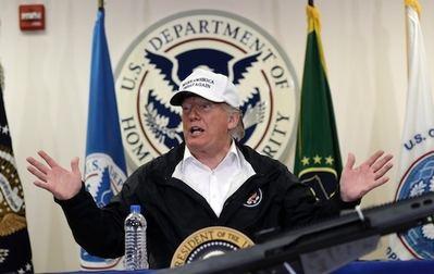 El Presidente Trump ha viajado recientemente a la frontera con México para apoyar el proyecto de su muro fronterizo.