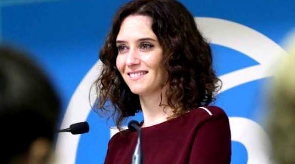 Cándida candidata del PP de Madrid