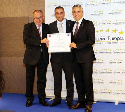 """Johnson Controls recibe la """"Medalla Europea al Mérito en el Trabajo"""""""