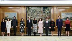 Su Majestad la Reina Doña Letizia recibe en audiencia a Vogue España