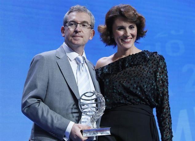 Los dos galardonados en la edición 2018 del Premio Planeta.