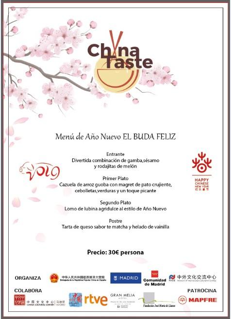 El Buda Feliz propone un menú de Año Nuevo Chino auténtico