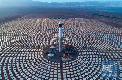 China construye en el desierto de Marruecos el mayor complejo mundial de energía solar