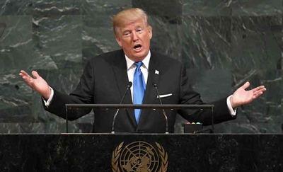 Para algunos líderes y cancilleres mundiales Trump está chantajeando a Naciones Unidas con sus retenciones fondos que tiene que aportar a  la organización.