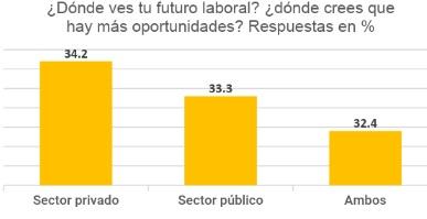 Fuente: Elaboración propia en base a los datos de la encuesta de Modis Life Science sobre empleo en el sector sanitario en la Comunidad de Madrid