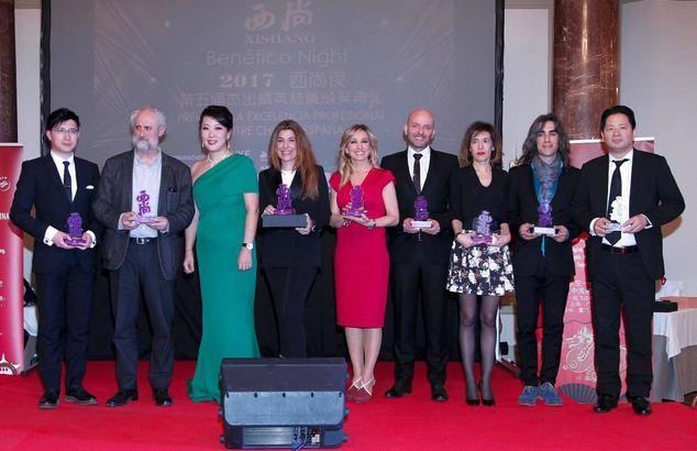 Los premiados de la edición 2017.