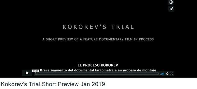 El kafkiano proceso contra los Kokorev vé la luz en un documental de proyección internacional