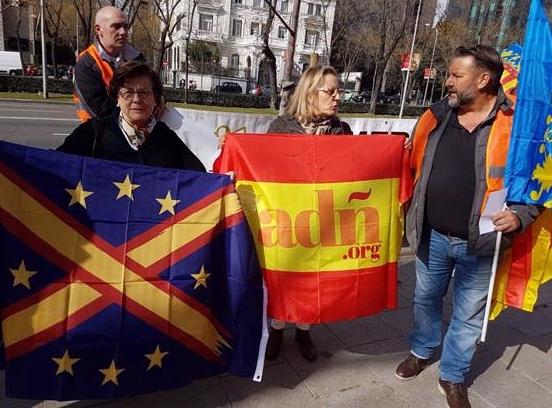 ADÑ acompaña a los agricultores en su protesta contra la Unión Europea