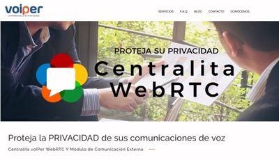La operadora de voz sobre IP voIPer, ha desarrollado una innovadora centralita virtual orientada a proteger la privacidad de las comunicaciones