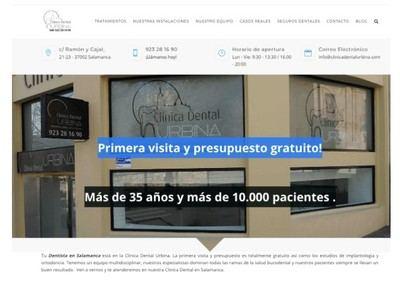 Clínica Dental Urbina, cuida de tu boca a pocos pasos del centro de Salamanca