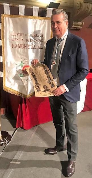 El prestigioso Doctor Jorge Planas Ribó ingresa en la Ilustre Academia de Ciencias de la Salud Ramón y Cajal como Académico de Honor