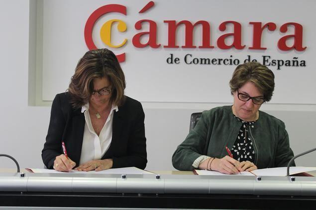 Alianza de la Fundación Telefónica con la Cámara de Comercio de España