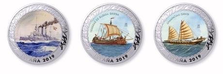 La historia de la navegación en 20 monedas exclusivas