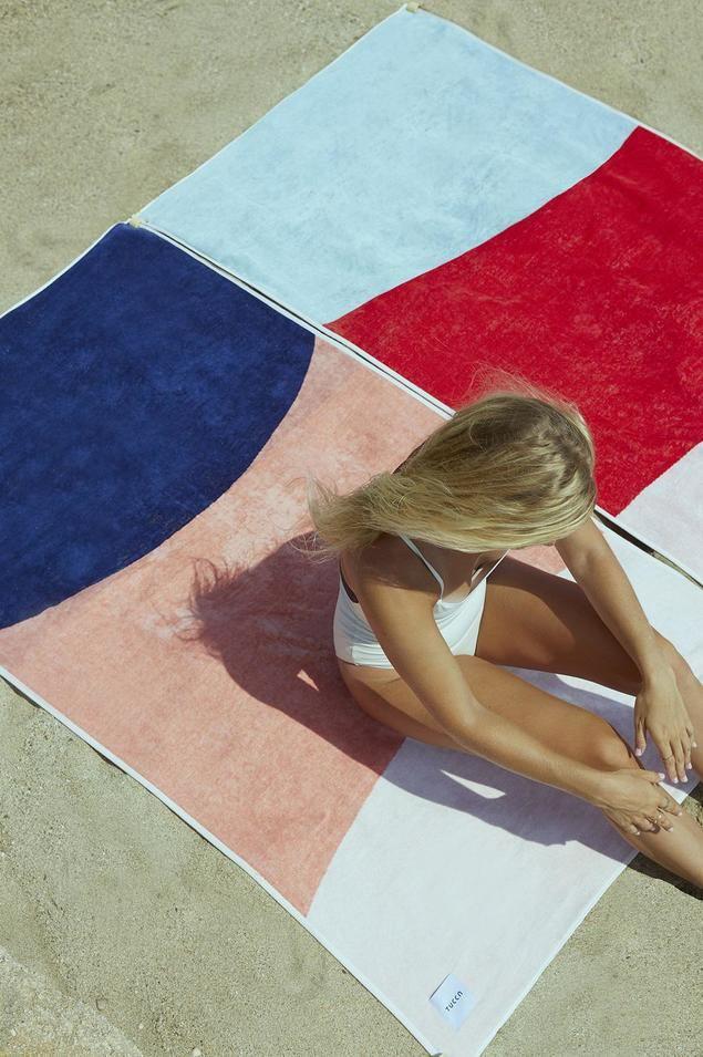 Tucca, la toalla de playa que no se vuela con el viento
