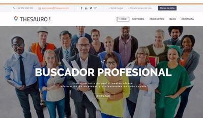 Thesauro, a la cabeza de los directorios profesionales