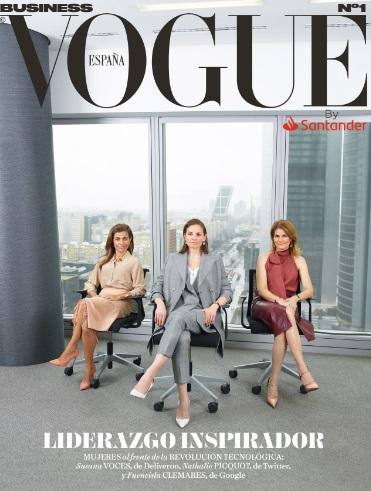 Vogue España lanza Vogue Business de la mano del Banco Santander
